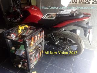 Cara pasang alarm motor All New Vixion 2017