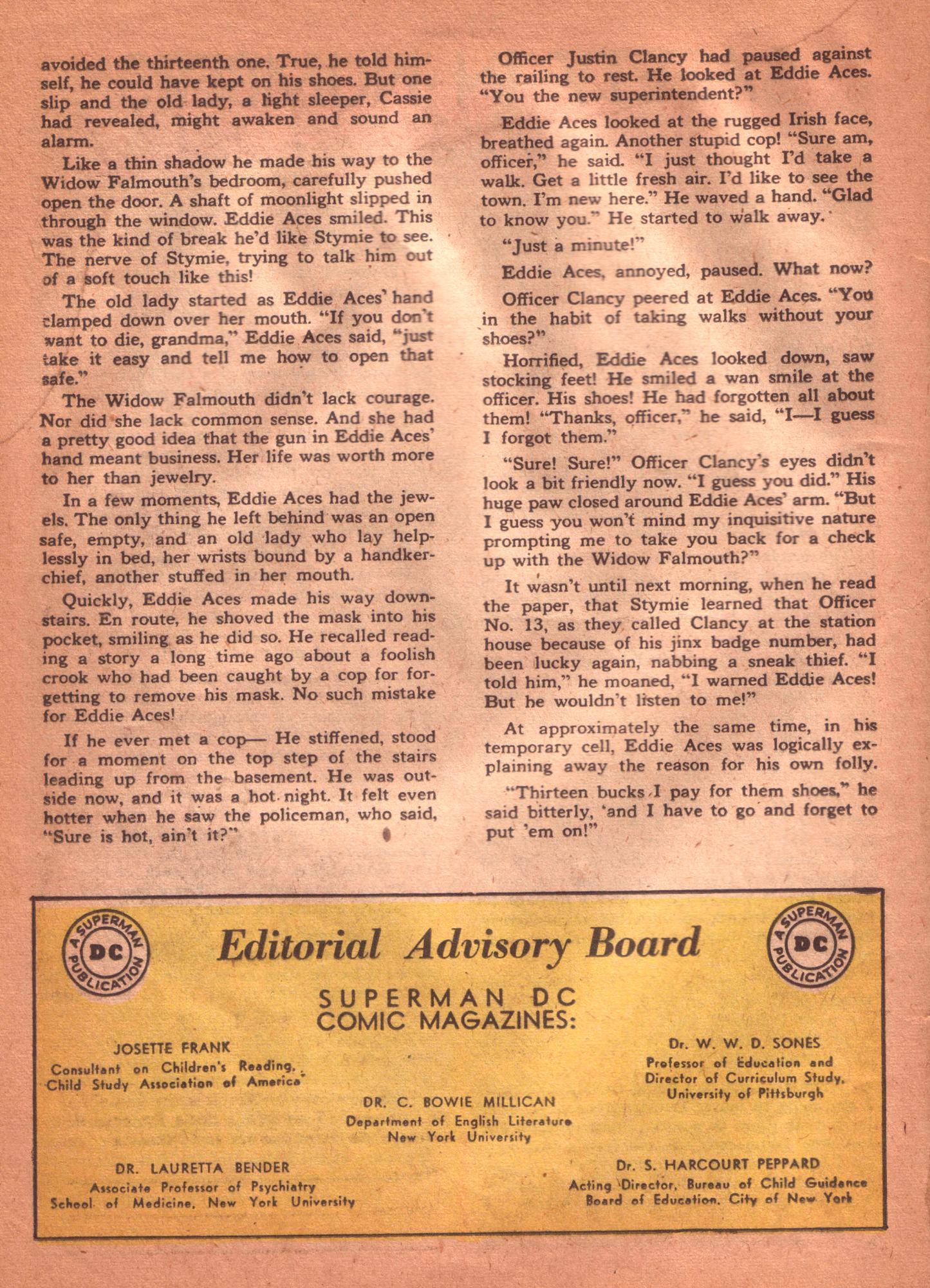 Read online Detective Comics (1937) comic -  Issue #125 - 34