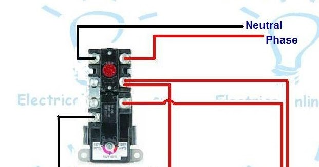 Electric Water Heater Wiring With Diagram | Electrical