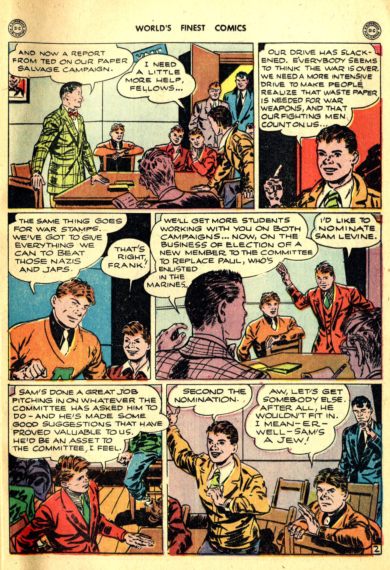 Read online World's Finest Comics comic -  Issue #18 - 61