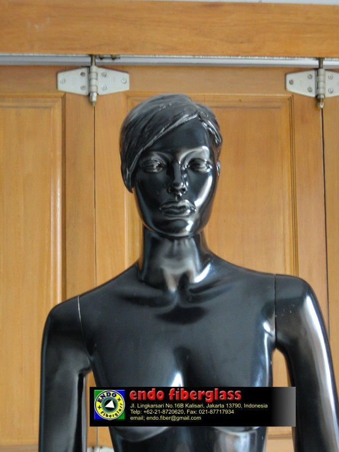 Jual Patung Mannequin | Manekin Full Body Wanita 'Black Edition'