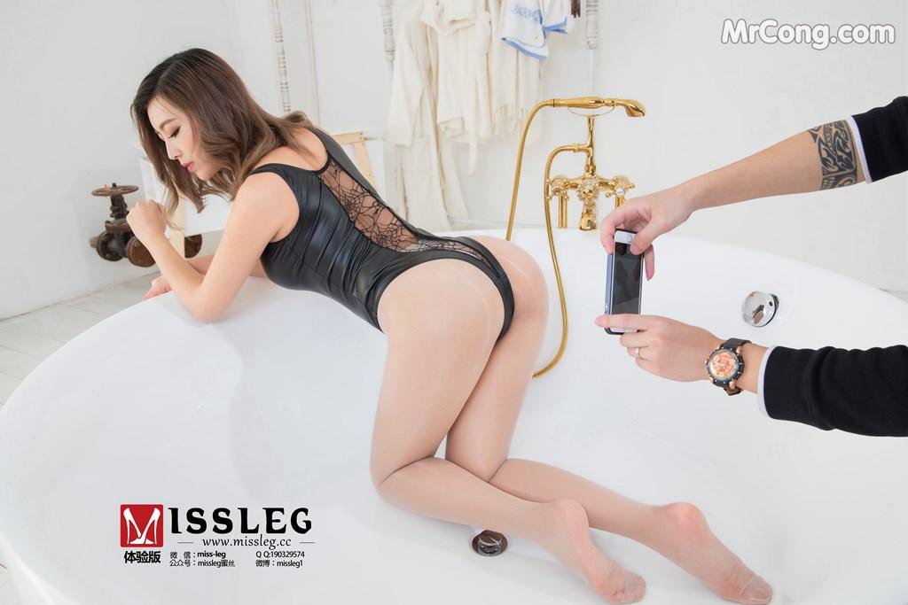MISSLEG 2018-04-06 No.012: Người mẫu Yao Yao (遥遥) (8 ảnh)