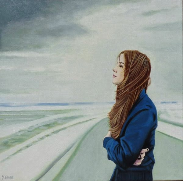 Portrait Paintings By Yvan Favre