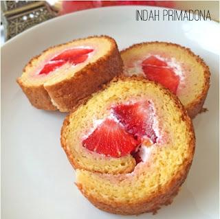 resep roll cake, roll cake tanpa oven, resep roll cake mudah