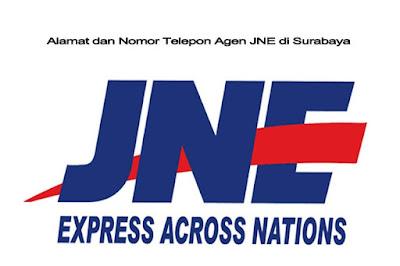 Alamat dan Nomor Telepon Agen JNE di Surabaya