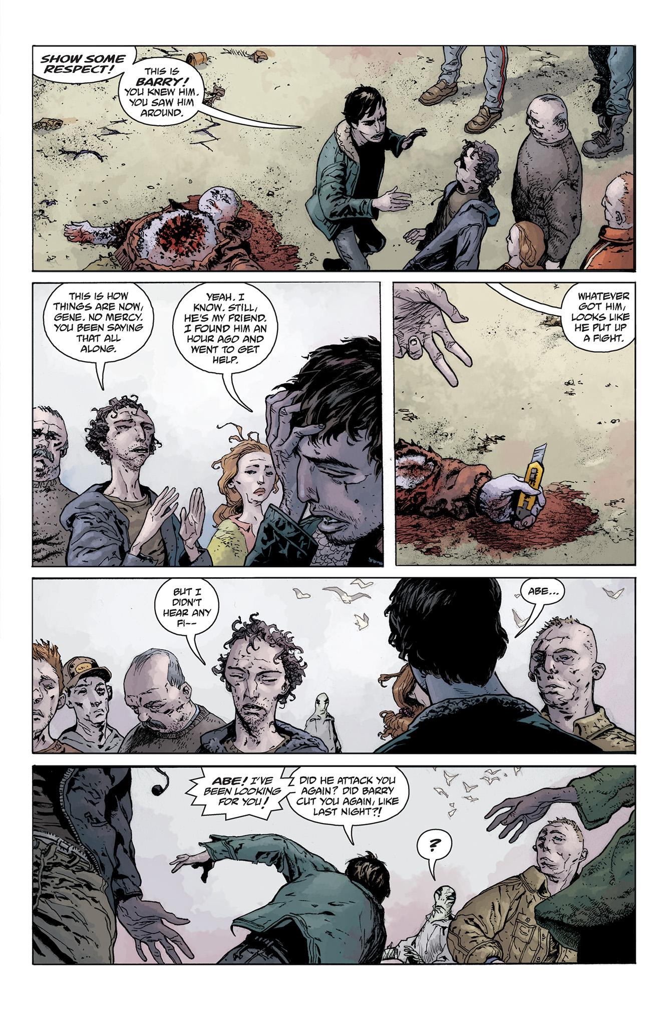 Read online Abe Sapien comic -  Issue #5 - 5