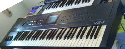 Casio VZ1, un emblemático sintetizador por distorsión de fase