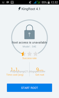 Cara Root Android Advan S4E Kitkat