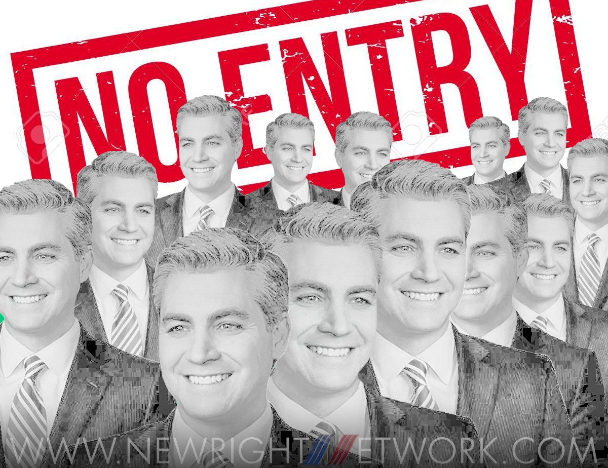 jim acosta no entry to white house, suspended press pass