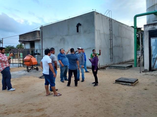 Obras do convênio com o SEDOP no município de Ourém recebem visitas de secretário de Estado