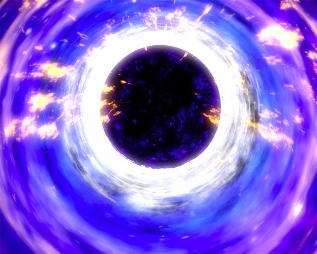 disco de gás e poeira ao redor de buraco negro