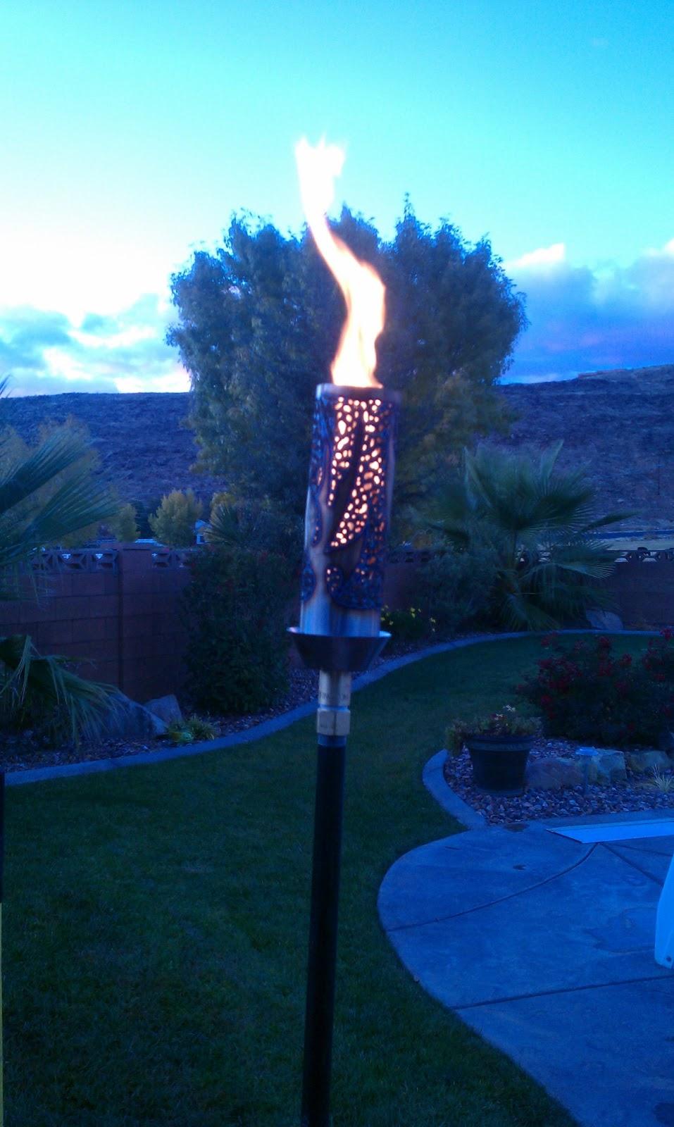 Gas Piping Gas Tiki Torches Salt Lake Provo St George