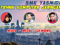 Design Banner Jurusan TKJ SMK Yasmida Ambarawa