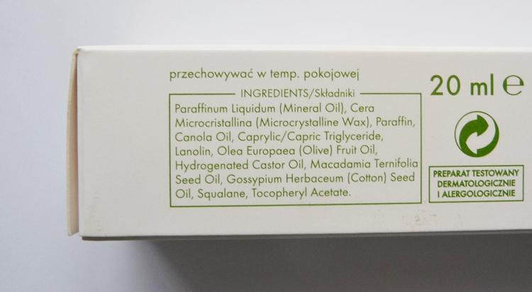 ziaja maść oliwkowa naturalny opatrunek regenerujący skład