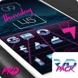 Rad Pack – 80's Theme v2.9.6 Paid APK