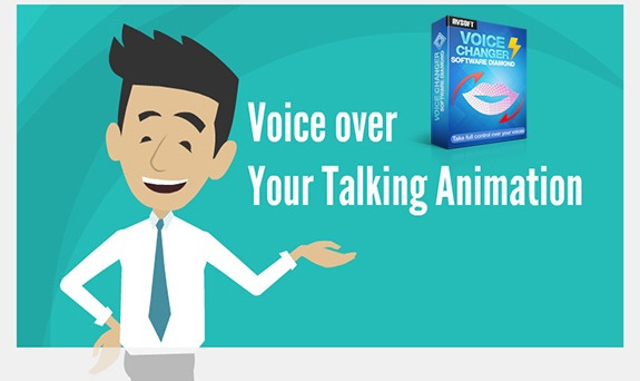 Voice-over your talking animation in GoAnimate with Voice Changer
