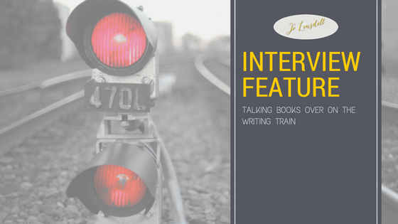Interview on The Writing Train @thewritingtrain