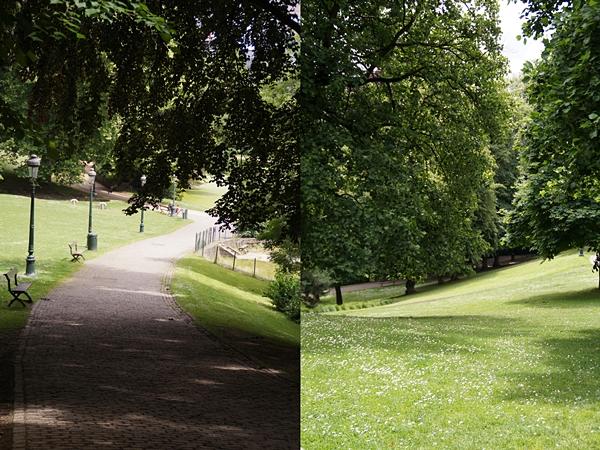 Großzügige Parkanlagen überall in Brüssel!