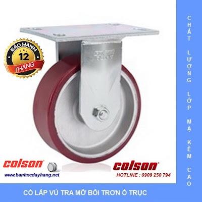 Báo giá bánh xe chịu lực phi 150 - 200 Colson Caster Mỹ www.banhxepu.net