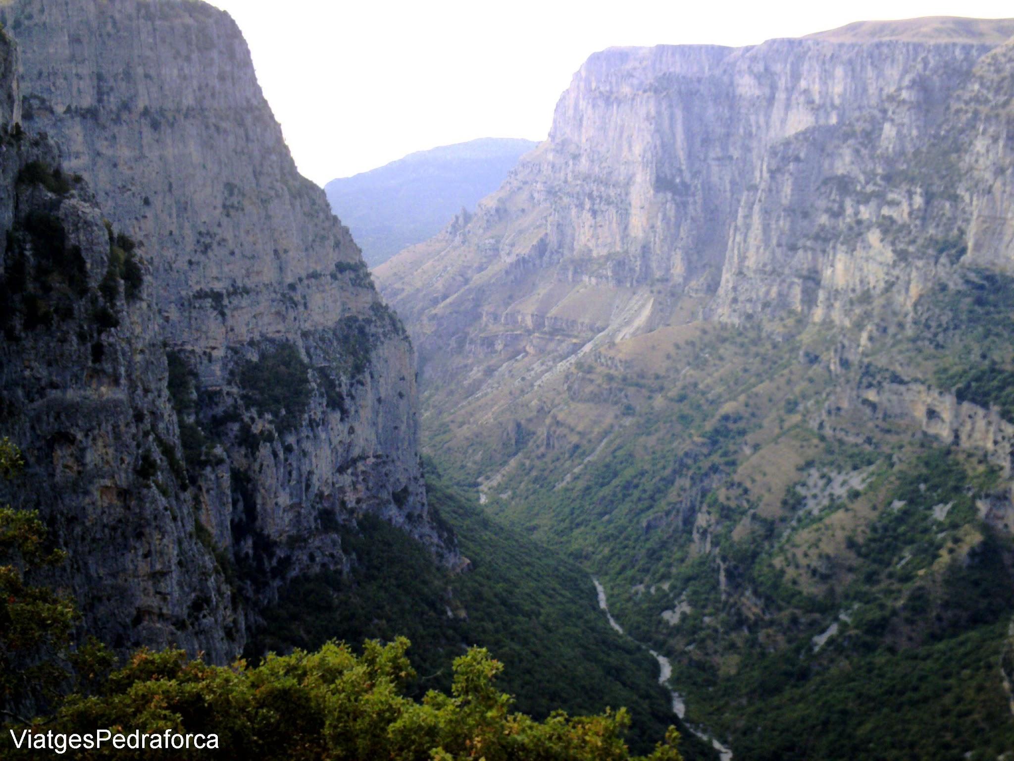 Vikos Gorge, Parc Nacional de Vikos-Aoos, Pindos, Grècia, Hellas, Greece