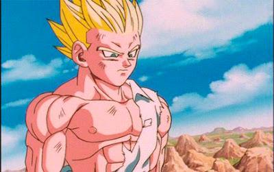 Son Gohan Baby, en Dragon Ball GT Tampco hubo nivel místico.