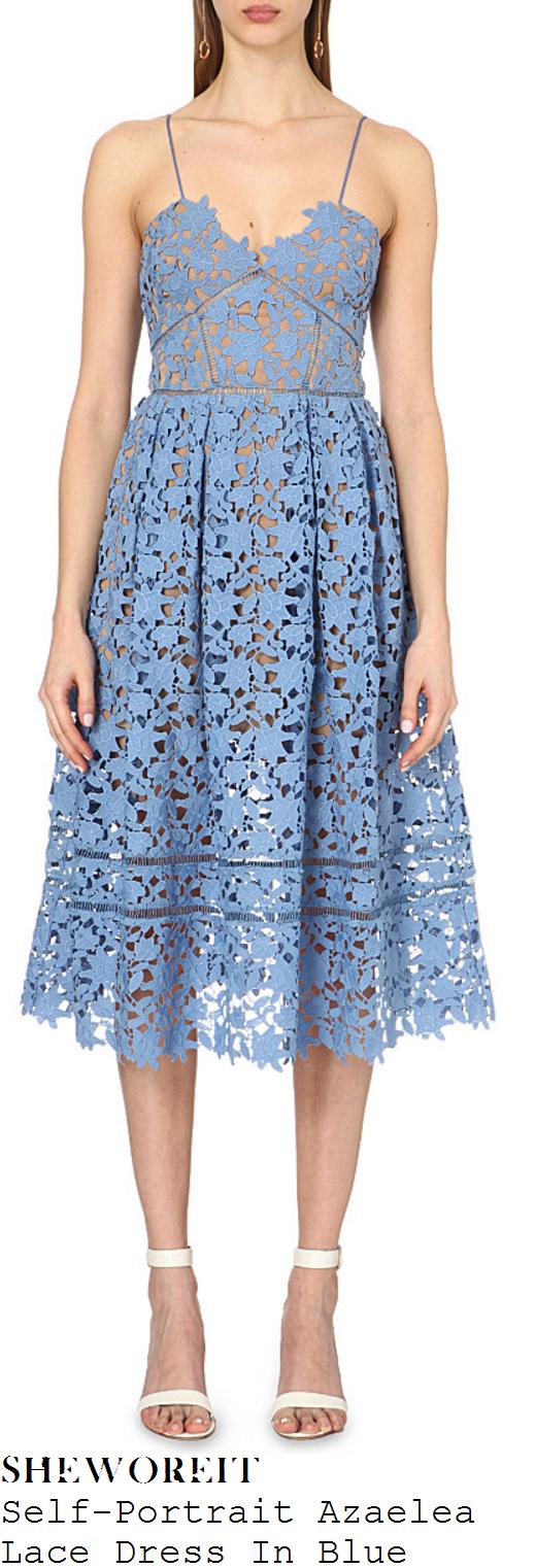 daisy-lowe-self-portrait-azaelea-light-blue-floral-lace-midi-dress