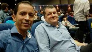 SOBRADO-PB: Prefeito George e secretário de educação participaram do lançamento do pacto pelo desenvolvimento social da PB