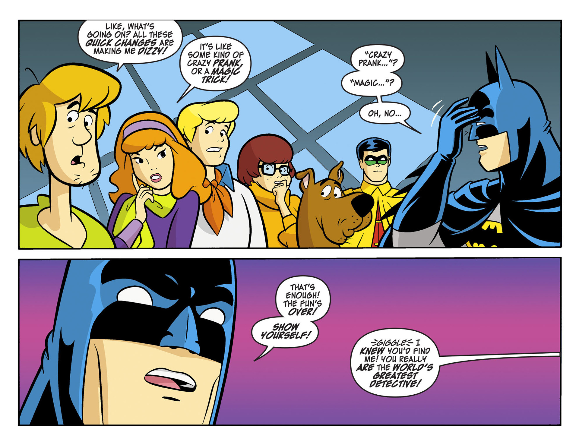 Read online Scooby-Doo! Team-Up comic -  Issue #5 - 7