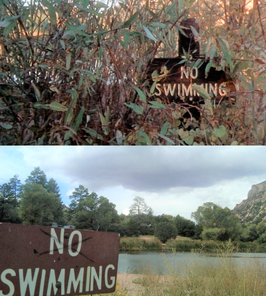 Granite Basin Lake Az.Then Now Movie Locations Creepshow 2