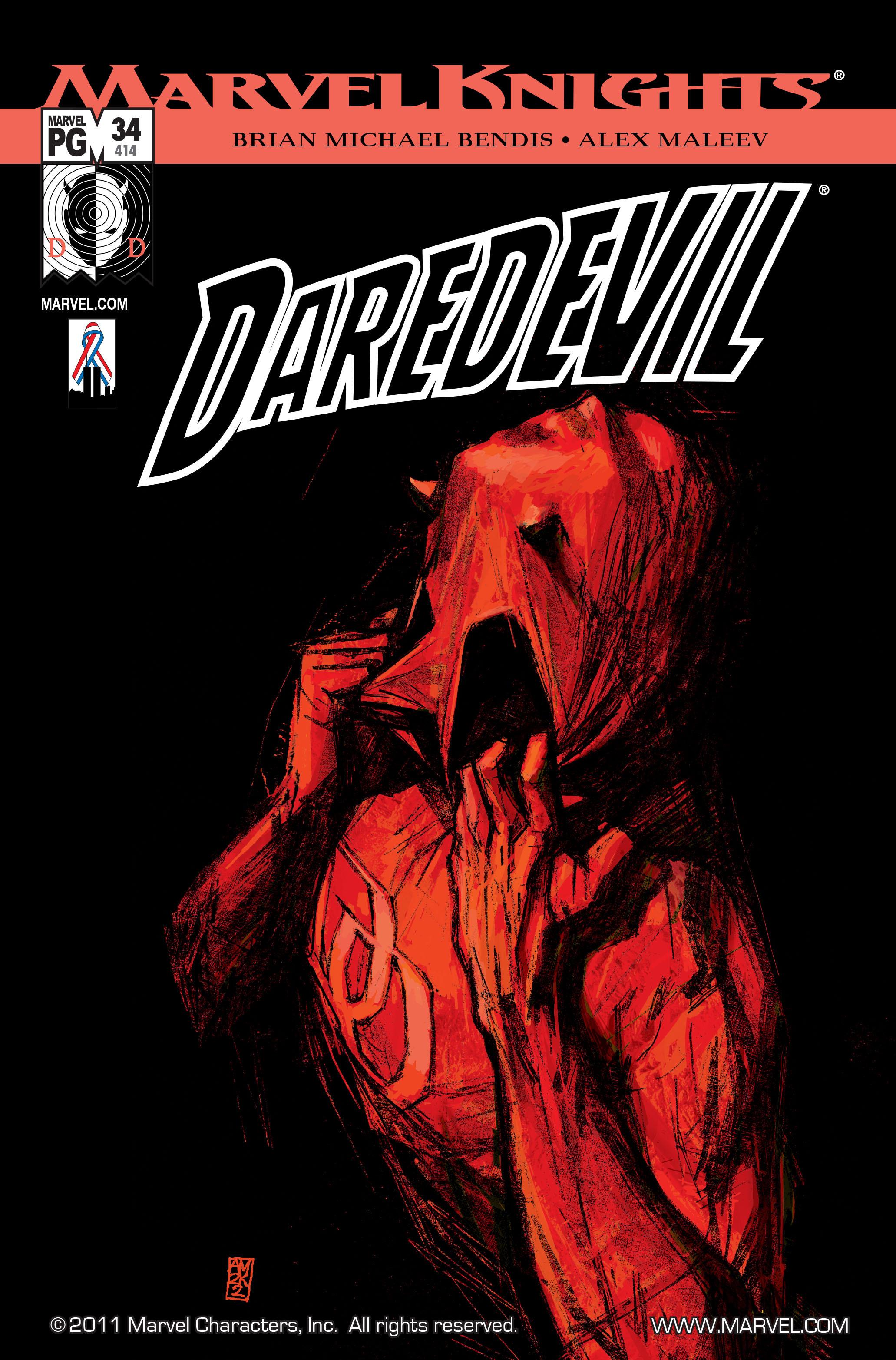 Daredevil (1998) 34 Page 1