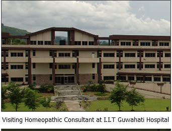 Visiting Homeopathic Consultant at IIT Guwahati Hospital