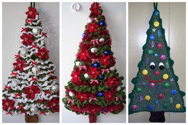 Gehaakte Kerstboompjes Wwwpicswecom