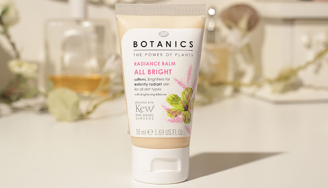 tube of Boots Botanics Radiance Balm all bright