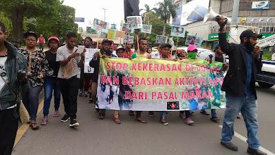 AMP Semarang-Salatiga: Copot Kapolsek Nabire dan Kapolsek Dogiyai serta Hapuskan Pasal Makar