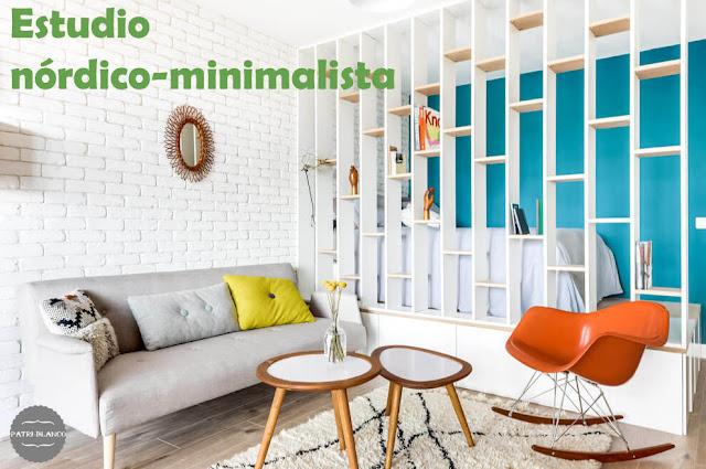 Un estudio nórdico-minimalista y juvenil