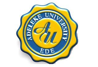 Adeleke University 2017/2018 Matriculation Ceremony Date Out