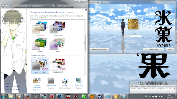 [Theme Win 7] Hyouka by Eldiaz7 5
