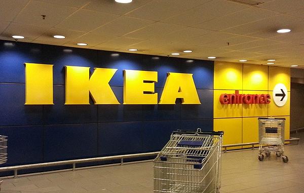 IKEA's big brand presence