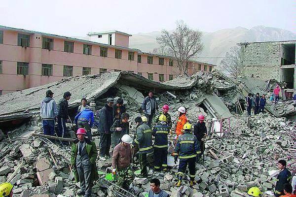 Gempa Di Tiongkok Sincuan, Sebabkan Kerugian Besar Dan Puluhan Korban