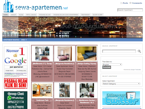 Apartment, Hunian Nyaman nan Menguntungkan