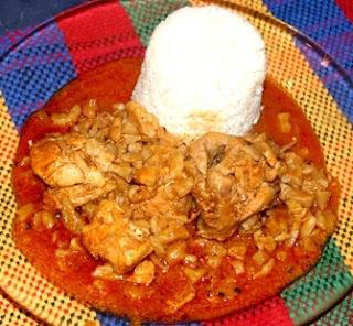 Foto de al plato con carapulcra - Plato típico del Perú