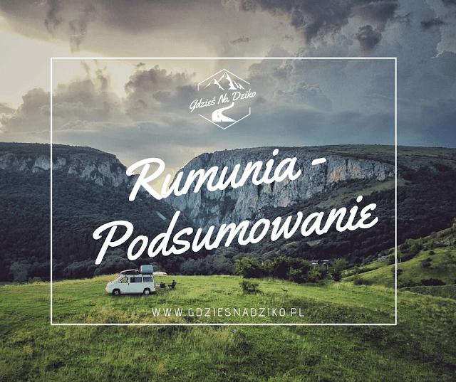 Rumunia - podsumowanie wyprawy