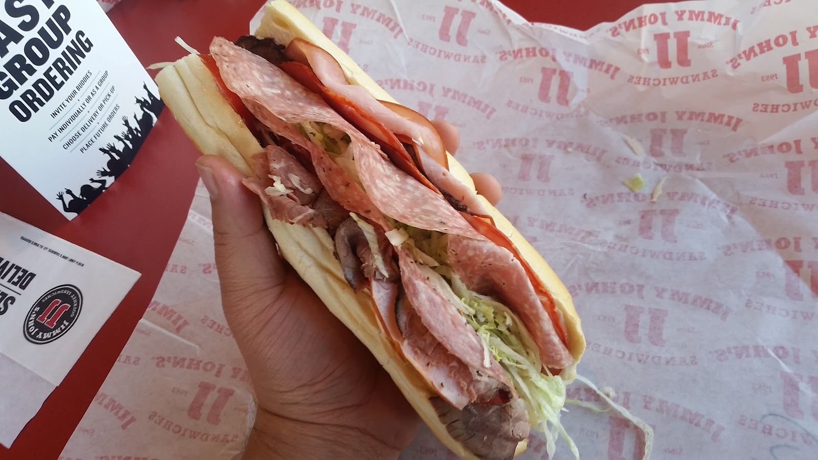 JJ Gargantuan Sub Sandwich