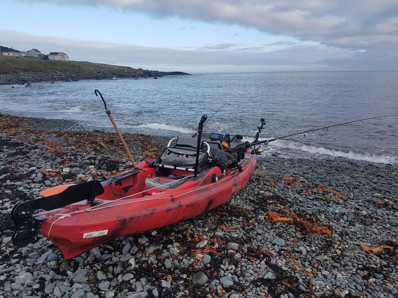 Kayak fishing in eastern newfoundland for Cabelas fishing kayak