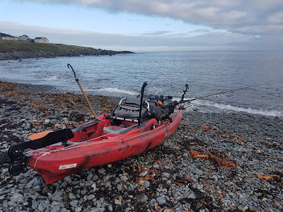 Kayak Fishing in Easter Newfoundland