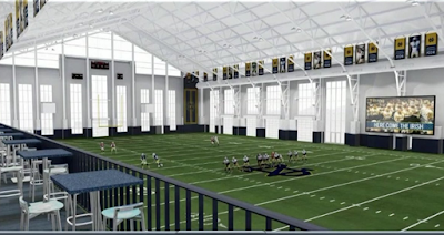 Took A Photo Of New Football Practice Facility
