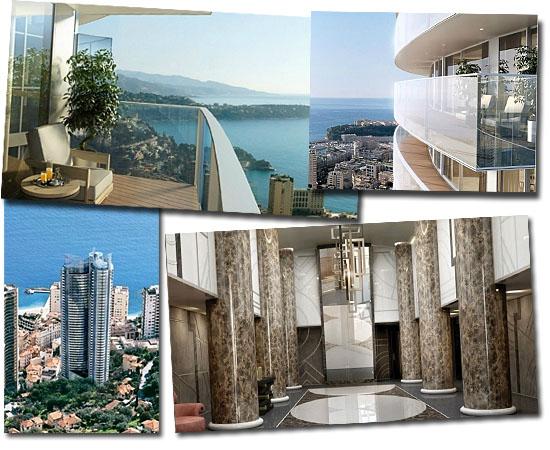 Edifício Tour Odéon em Mônaco - Apartamento mais caro do mundo