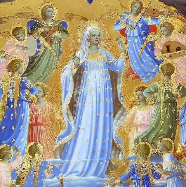 Assunção de Nossa Senhora, Beato Angelico (1395 – 1455), Google Cultural Institute