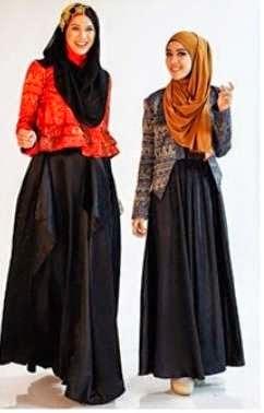 Model Baju Muslim Dian Pelangi Terbaik 2015