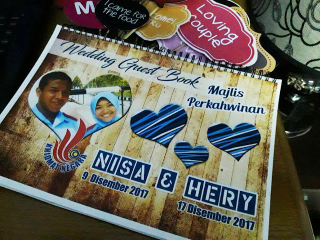 guest book murah